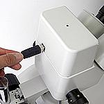 デジタルカメラ内蔵双眼式実体顕微鏡
