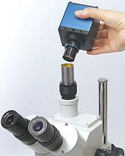 顕微鏡用PCモニタダイレクトカメラ