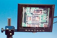 ビデオマイクロスコープ用8.0インチモニタセット