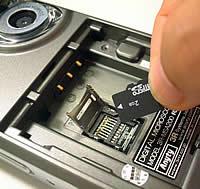マイクロSDカードに保存