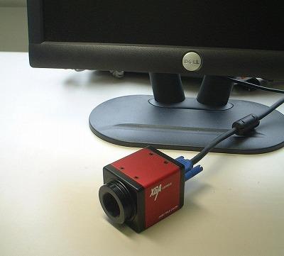 任意ライン発生機能付きXGAカメラ