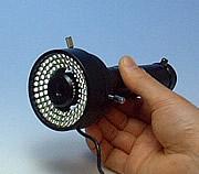 96灯LEDリング照明取付例