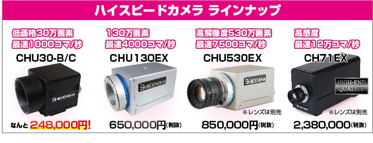 ハイスピードカメラ