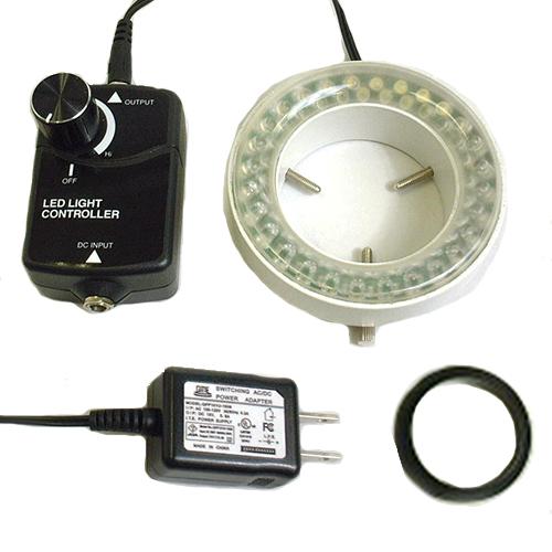 オリンパス製実体顕微鏡用LEDリング照明