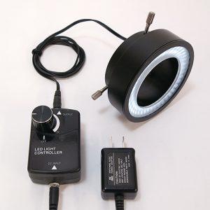 白色LEDリング照明