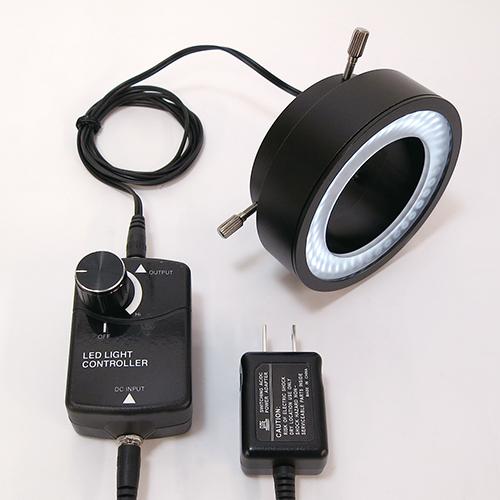 高輝度80灯 白色LEDリング照明