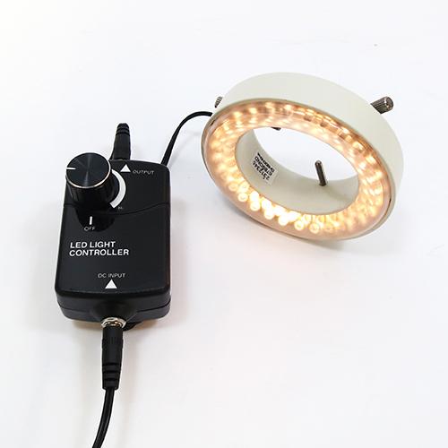 黄色LEDリング照明