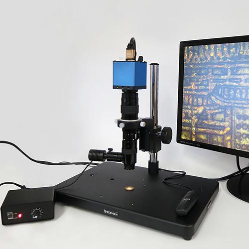 同軸照明ハイビジョンマイクロスコープ