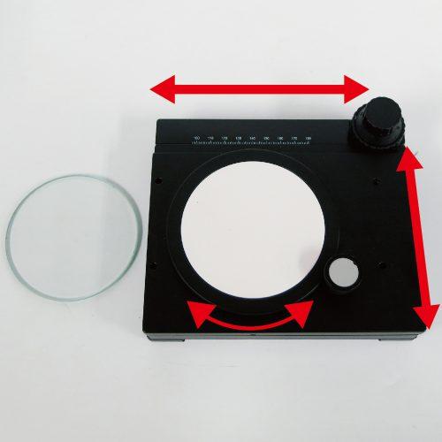 回転式簡易XYテーブル