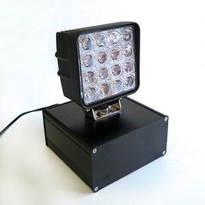 ハイスピードカメラ用簡易照明