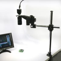 長距離 ビデオマイクロスコープ (エッジ固定タイプ)
