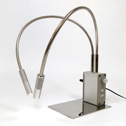 顕微鏡用薄型 ツインアーム照明