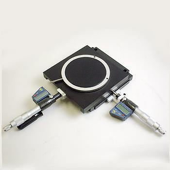 XYテーブル(デジタルマイクロメーター付)