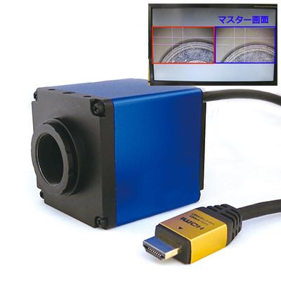ハイブリッドハイビジョンカメラ(2画面表示機能付)