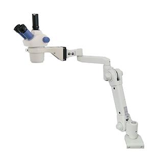 ズーム式三眼実体顕微鏡 (スムースアーム付)