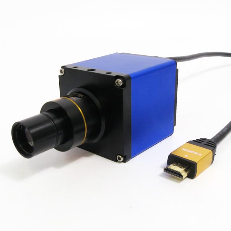 顕微鏡用 ハイビジョンカメラ 〈USBメモリスロットル付〉