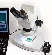 双眼式実体顕微鏡 (デジタルカメラ内蔵)