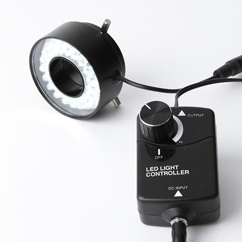 細径40灯LEDリング照明