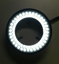 4分割72灯 LEDリング照明