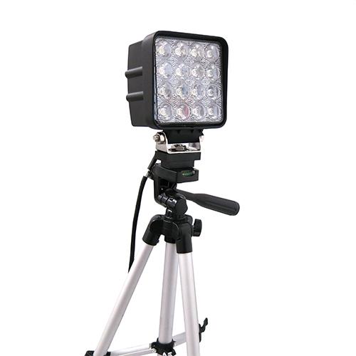 ハイスピードカメラ用簡易照明(三脚アダプタ付き)
