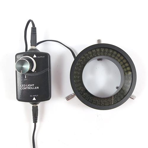 LEDリング照明(偏光フィルター・拡散板付)