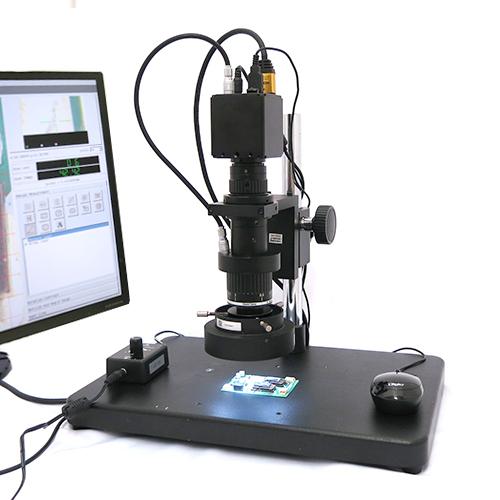 寸法測定(自動校正)マイクロスコープ