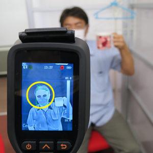 ハンディ型体温測定用サーモグラフィー