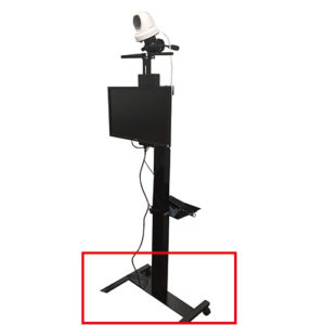 電動昇降ドーム型サーマルカメラセット